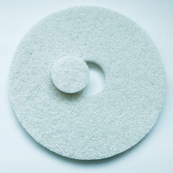 White floor pad