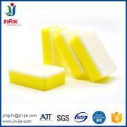 white sponge scourer